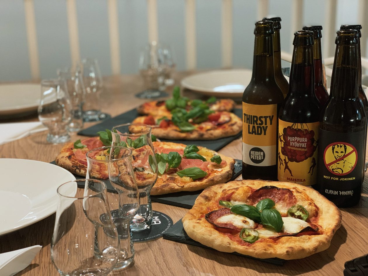 Pizza a'la Digitalfermentation